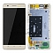 LCD + TOUCH PAD COMPLETE HUAWEI HONOR 4C WITH FRAME GOLD 02350GBR ORIGINAL SERVICE PACK