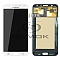 LCD + TOUCH PAD COMPLETE SAMSUNG J700 GALAXY J7 WHITE GH97-17670A ORIGINAL SERVICE PACK