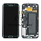 LCD + TOUCH PAD COMPLETE SAMSUNG G925 GALAXY S6 EDGE GREEN GH97-17162E ORIGINAL SERVICE PACK