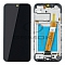 LCD + TOUCH PAD COMPLETE SAMSUNG A015 GALAXY A01 BLACK WITH FRAME GH81-18209A ORIGINAL SERVICE PACK