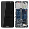 LCD + TOUCH PAD COMPLETE HUAWEI MATE 9 WITH FRAME AND BATTERY GREY 02351BDD ORIGINAL SERVICE PACK