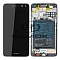 LCD + TOUCH PAD COMPLETE HUAWEI Y5 2017 MAYA-L22 WITH FRAME AND BATTERY BLACK 02351DMD ORIGINAL SERVICE PACK