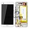 LCD + TOUCH PAD COMPLETE HUAWEI P8 LITE WITH FRAME AND BATTERY WHITE 02350KCD 02351LLA ORIGINAL SERVICE PACK