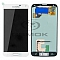 LCD + TOUCH PAD COMPLETE SAMSUNG G900 GALAXY S5 WHITE GH97-15959A ORIGINAL SERVICE PACK