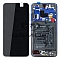LCD + TOUCH PAD COMPLETE HUAWEI MATE 20 WITH FRAME AND BATTERY TWILIGHT 02352FRA ORIGINAL SERVICE PACK