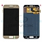LCD + TOUCH PAD COMPLETE SAMSUNG A320 GALAXY A3 2017 GOLD GH97-19732B, GH97-19753B ORIGINAL SERVICE PACK