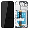 LCD + TOUCH PAD COMPLETE MOTOROLA MOTO E6 PLAY WITH FRAME BLACK 5D68C15720 ORIGINAL SERVICE PACK