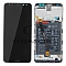 LCD + TOUCH PAD COMPLETE HUAWEI MATE 10 LITE RNE-L21 WITH FRAME AND BATTERY BLACK 02351QCY 02351PYX 02351QUG ORIGINAL SERVICE PACK