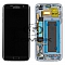 LCD + TOUCH PAD COMPLETE SAMSUNG G935 GALAXY S7 EDGE BLACK WITH FRAME GH97-18533A GH97-18767A GH97-18775A ORIGINAL SERVICE PACK