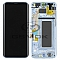LCD + TOUCH PAD COMPLETE SAMSUNG G955 GALAXY S8 PLUS BLUE WITH FRAME GH97-20470D ORIGINAL SERVICE PACK