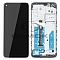 LCD + TOUCH PAD COMPLETE MOTOROLA MOTO G8 XT2045 WITH FRAME BLACK 5D68C16383 ORIGINAL SERVICE PACK