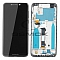 LCD + TOUCH PAD COMPLETE MOTOROLA MOTO ONE XT1941 WITH FRAME BLACK 5D68C11802 ORIGINAL SERVICE PACK