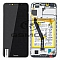 LCD + TOUCH PAD COMPLETE HUAWEI HONOR 7A WITH FRAME AND BATTERY BLACK 02351WDU ORIGINAL SERVICE PACK