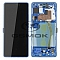 LCD + TOUCH PAD COMPLETE SAMSUNG G770 GALAXY S10 LITE PRISM BLUE WITH FRAME GH82-21672C GH82-21992C ORIGINAL SERVICE PACK