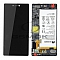 LCD + TOUCH PAD COMPLETE HUAWEI P8 GRA-L09 WITH FRAME AND BATTERY BLACK 02350GRW ORIGINAL SERVICE PACK