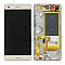 LCD + TOUCH PAD COMPLETE HUAWEI P8 LITE WITH FRAME AND BATTERY GOLD 02350KGP ORIGINAL SERVICE PACK