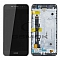 LCD + TOUCH PAD COMPLETE HUAWEI Y6 PRO 4G WITH FRAME BLACK 97070MDX ORIGINAL SERVICE PACK