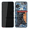 LCD + TOUCH PAD COMPLETE HUAWEI P40 WITH FRAME AND BATTERY DEEP SEA BLUE 02353MFU ORIGINAL SERVICE PACK