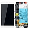 LCD + TOUCH PAD COMPLETE HUAWEI P8 GRA-L09 WITH FRAME AND BATTERY WHITE 02350GRS ORIGINAL SERVICE PACK