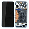 LCD + TOUCH PAD COMPLETE HUAWEI P30 LITE MAR-LX1A WITH FRAME AND BATTERY BLUE 02352RQA ORIGINAL SERVICE PACK