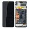 LCD + TOUCH PAD COMPLETE HUAWEI Y6P WITH FRAME AND BATTERY BLACK 02353LKV ORIGINAL SERVICE PACK