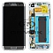 LCD + TOUCH PAD COMPLETE SAMSUNG G935 GALAXY S7 EDGE SILVER GH97-18533B ORIGINAL SERVICE PACK