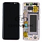 LCD + TOUCH PAD COMPLETE SAMSUNG G950 GALAXY S8 PINK WITH FRAME GH97-20457E ORIGINAL SERVICE PACK