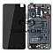 LCD + TOUCH PAD COMPLETE HUAWEI MATE 10 WITH FRAME AND BATTERY BLACK 02351QAH ORIGINAL SERVICE PACK