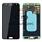 LCD + TOUCH PAD COMPLETE SAMSUNG J720 GALAXY J7 DUO BLACK GH97-21827A ORIGINAL SERVICE PACK