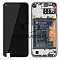 LCD + TOUCH PAD COMPLETE HUAWEI P40 LITE E WITH FRAME AND BATTERY MIDNIGHT BLACK 02353FMW ORIGINAL SERVICE PACK