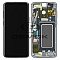 LCD + TOUCH PAD COMPLETE SAMSUNG G965 GALAXY S9 PLUS TITANIUM GREY WITH FRAME GH97-21691C ORIGINAL SERVICE PACK