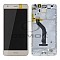 LCD + TOUCH PAD COMPLETE HUAWEI HONOR 7 LITE NEM-L51 WITH FRAME AND BATTERY GOLD 02350TKC 02350TSY ORIGINAL SERVICE PACK