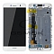 LCD + TOUCH PAD COMPLETE HUAWEI Y6 PRO 4G WITH FRAME WHITE 97070MDU ORIGINAL SERVICE PACK