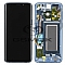 LCD + TOUCH PAD COMPLETE SAMSUNG G960 GALAXY S9 CORAL BLUE WITH FRAME GH97-21696D ORIGINAL SERVICE PACK