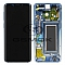 LCD + TOUCH PAD COMPLETE SAMSUNG G960 GALAXY S9 POLARIS BLUE WITH FRAME GH97-21696G ORIGINAL SERVICE PACK