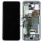 LCD + TOUCH PAD COMPLETE SAMSUNG G988 GALAXY S20 ULTRA GRAY WITH FRAME GH82-22327B GH82-22271B ORIGINAL SERVICE PACK