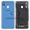 BATTERY COVER HOUSING SAMSUNG A405 GALAXY A40 BLUE WITH LENS OF CAMERA GH82-19406C [ORIGINAL USED GRADE A]