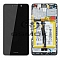 LCD + TOUCH PAD COMPLETE HUAWEI HONOR 6X WITH FRAME AND BATTERY BLACK 02351BNB ORIGINAL SERVICE PACK