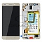 LCD + TOUCH PAD COMPLETE HUAWEI HONOR 7 WITH FRAME AND BATTERY GOLD 02350QTN ORIGINAL SERVICE PACK