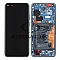 LCD + TOUCH PAD COMPLETE HUAWEI P40 PRO WITH FRAME AND BATTERY DEEP SEA BLUE 02353PJJ ORIGINAL SERVICE PACK